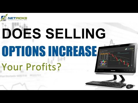 Does selling options increase trading performance?