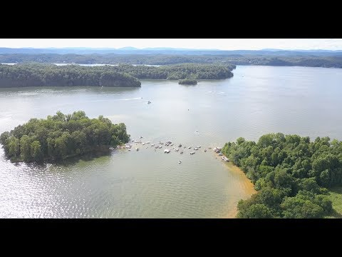 Sand Island - Watts Bar Lake - Memorial Weekend 2017