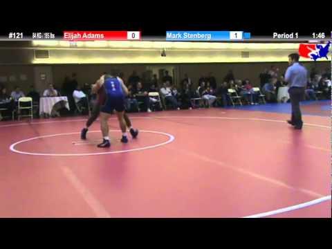NYAC 84 KG / 185 lbs: Elijah Adams vs. Mark Stenberg
