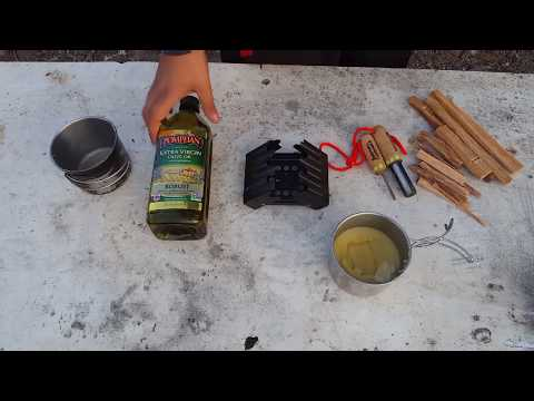 DIY | Wood oil out of beeswax and olive oil