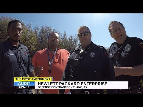 First Amendment Audit - Hewlett Packard Enterprise