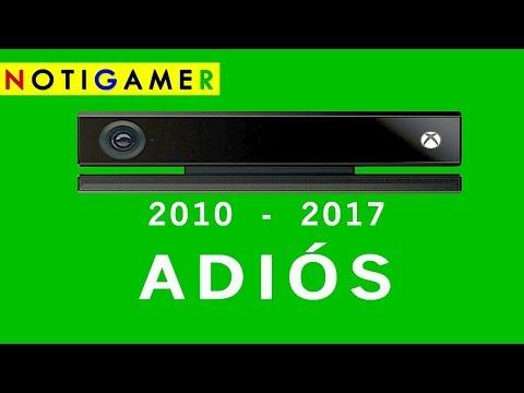 ADIÓS KINECT  - Microsoft anunció fin de su producción