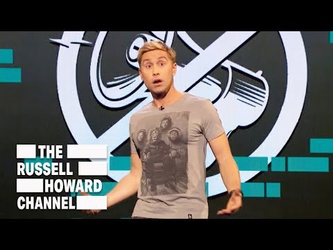 Let's talk about freedom of speech - The Russell Howard Hour