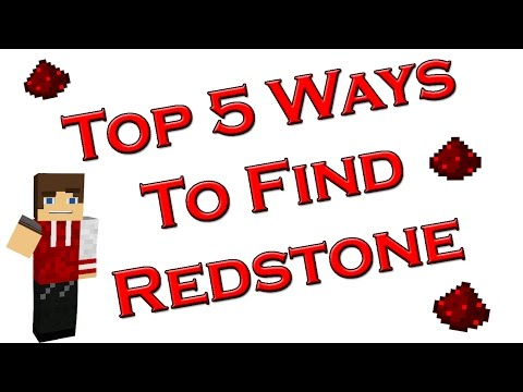Top 5 Ways To Find Redstone In Minecraft
