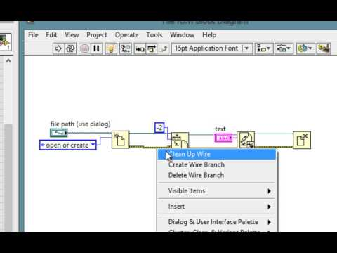 VI High 46 - Learn How to Use the Error Cluster and Error Handling in LabVIEW