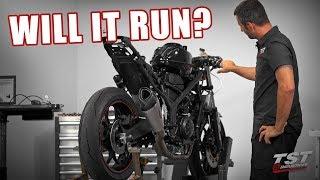 Yamaha R3 Superbike First Start - BRAPPP or BOOM? [Superbike Build Series Ep.10]