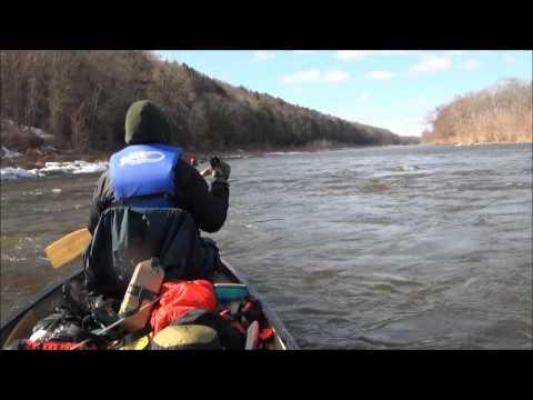 Canoeing the Delaware Water Gap 2015