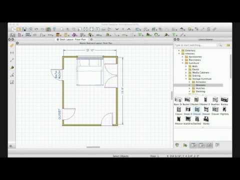 Interior Design | Master Bedroom Floorplan and Layout Ideas