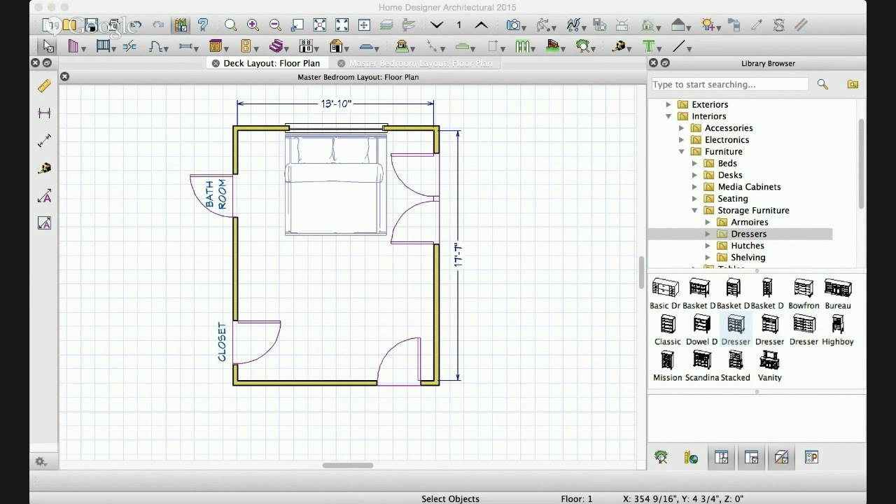 Interior Design | Master Bedroom Floorplan And Layout Ideas   YouTube