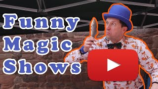 Funny Children's Magic Shows with Ritchie Rosson