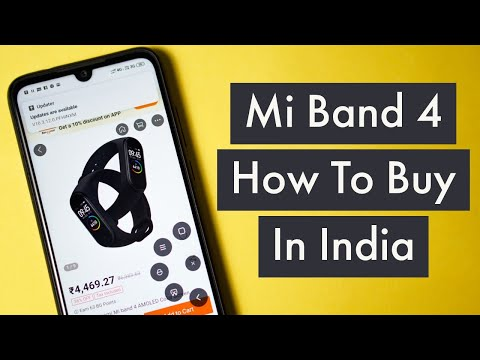How To Buy Mi Band 4 In India