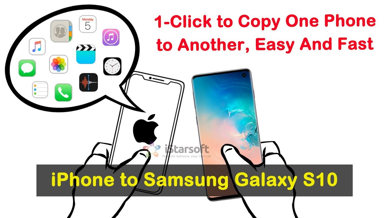 Transfer All Data from iPhone to Samsung Galaxy S10 with dr.fone - Switch on Mac