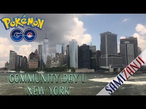 COMMUNITY DAY I NEW YORK | POKÉMON GO SVENSKA thumbnail
