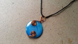 How To Make A Flat Bead And Wire Locket - DIY Style Tutorial - Guidecentral