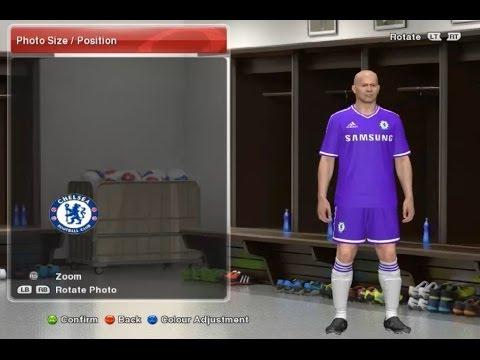 7d41b4141d Uniforme do Chelsea 2013 2014 para PES 2014  Tutorial  - YouTube