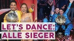 Alle Let's Dance Gewinner: Diese Promis haben bisher am besten getanzt | STARS