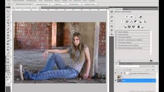Грамотное наложение текстуры в Фотошопе.avi