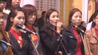 Đền Thánh Phú Nhai 08/12/2012 - Thánh Lễ ban chiều, phần 3