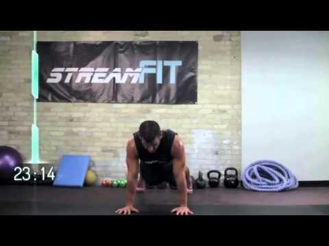 40 Minute fat blasting full bodyweight workout
