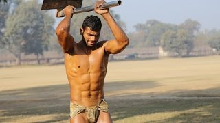 Repeat youtube video Learn about Asian Style Folk Wrestling Called Desi Kushti in India and Pakistan