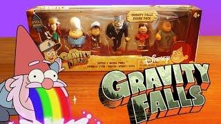 Огляд іграшок (6 фігурок) Гравити Фолз (Gravity Falls) | G4SKY.ru