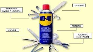 propiedades del lubricante wd 40 increible video