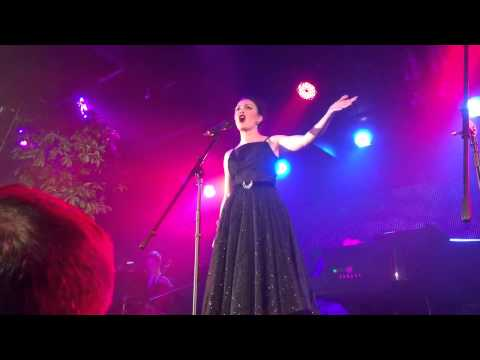 Catherine Walker sings