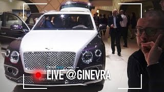 Bentley Bentayga Mulliner | Salone Di Ginevra 2017