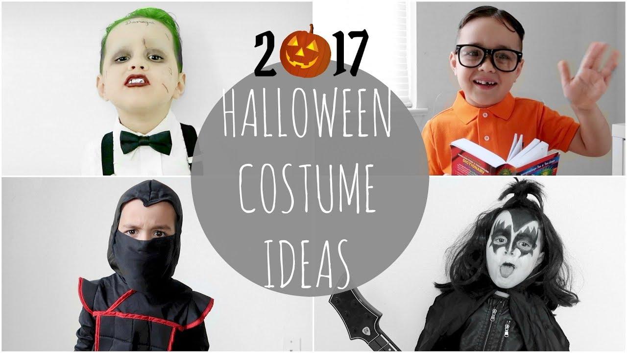 LAST,MINUTE HALLOWEEN COSTUME IDEAS! (Kids)