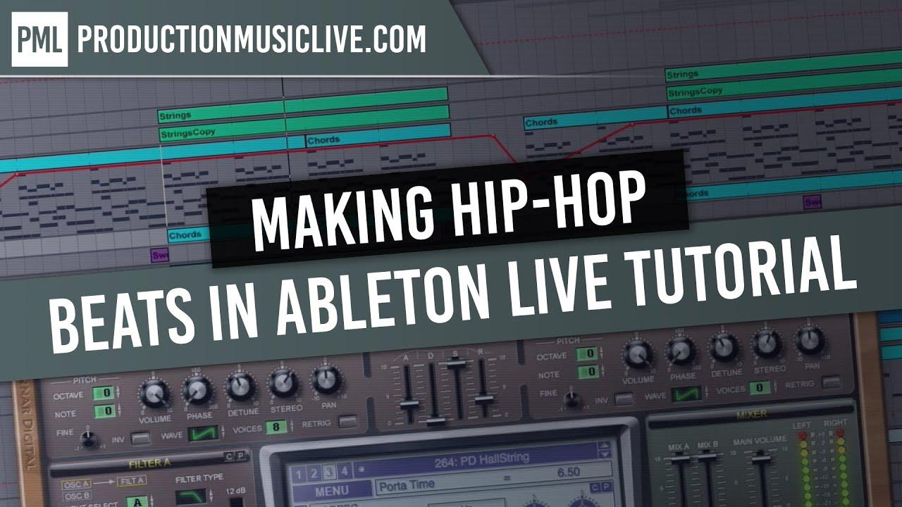 how to produce hip hop beats ableton