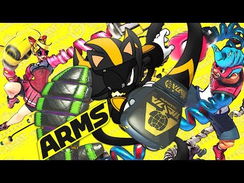 PUNCH OUT EXTENDED!!!   ARMS   Grand Prix