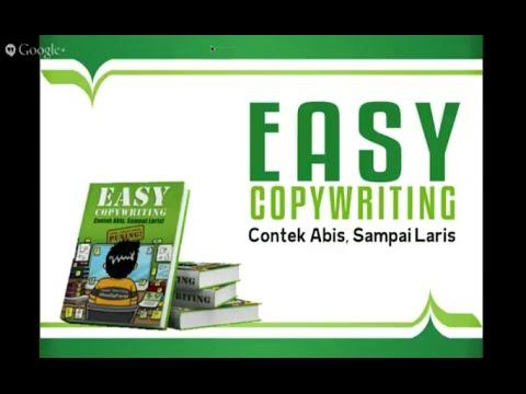 Seminar Easy Copywriting Dewa Eka Prayoga