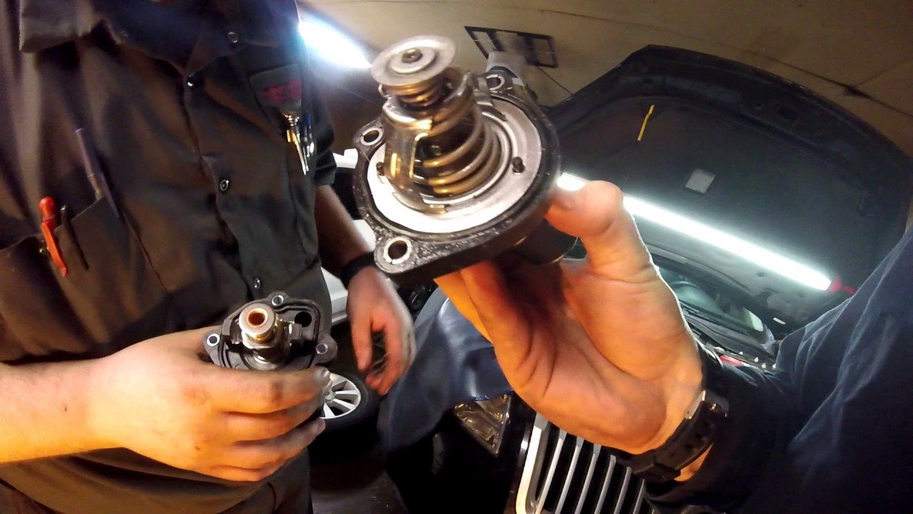 change  thermostat      ford fusion