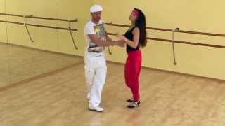 Сальса видео — Урок сальса №12 «Enchufle con vuelta»