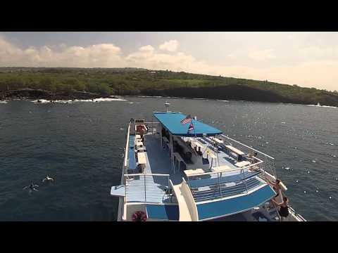 Kona Hawaii Body Glove Boat