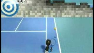 Wiiスポーツ テニス 壁 左右貫通