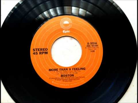 More Than A Feeling , Boston , 1976 Vinyl 45RPM