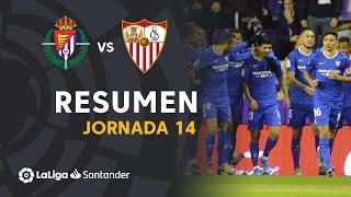 Resumen de Real Valladolid vs Sevilla FC (0-1)