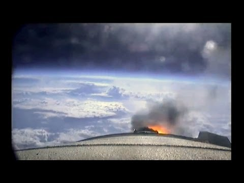 ᴴᴰ Full Ride on the Space Shuttle Boosters ♦ Natural Sound ♦