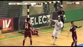 UEFA Futsal Cup 2015. Kairat - Gazprom-UGRA. 2:5