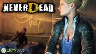 NeverDead - Xbox 360 / Ps3 Gameplay (2012)