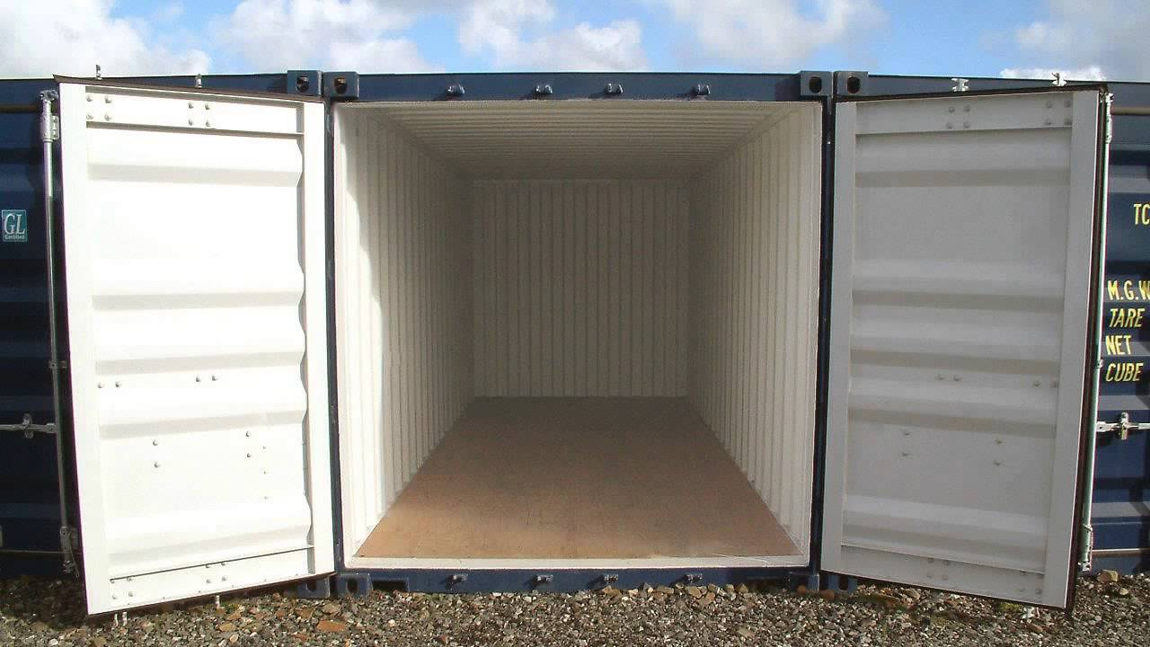 Cheap Self Storage Containers For Hire Ash Kent & Cheap Self Storage Containers For Hire Ash Kent - YouTube