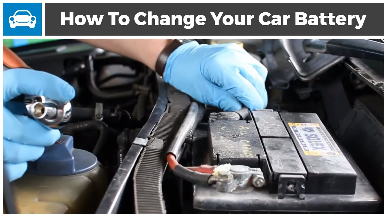 Installing A Car Battery Safely