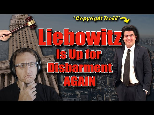 """""""Copyright Troll"""" Liebowitz is up for Sanctions, Disbarment"""
