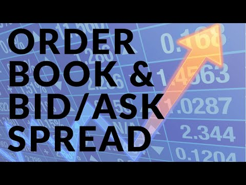 What is an Order Book and Bid/Ask Spread? | Trading in Financial Markets Part 1/3