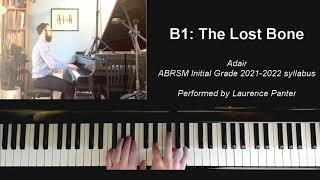 B:1 The Lost Bone (ABRSM Initial Grade piano 2021-2022)