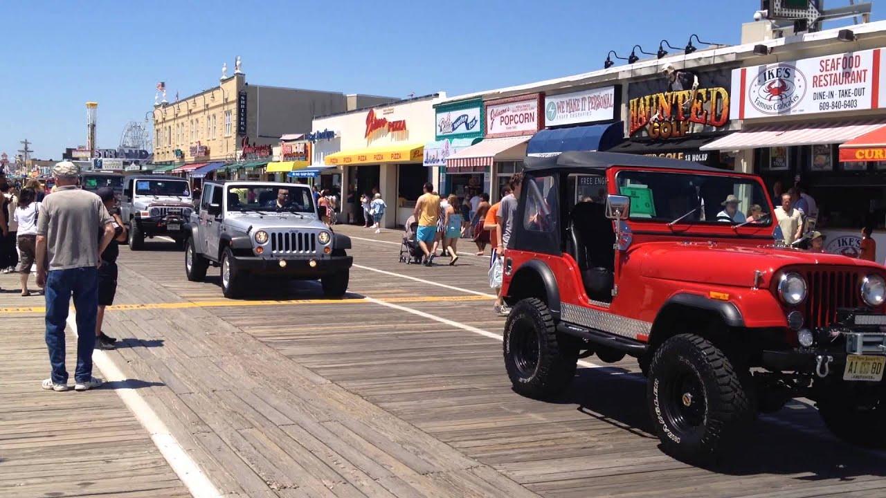 Ocean city nj jeep week