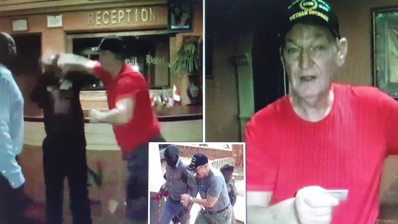 Former U.S. Marine ARRESTED for Assaulting Uganda Hotel Staff...