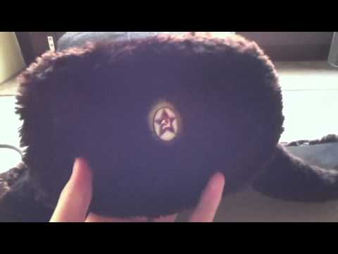 Russian Navy Officer Mouton Ushanka Hat Review