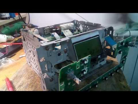 Ремонт штатной автомагнитолы CQ-TS7171L из автомобиля Toyota
